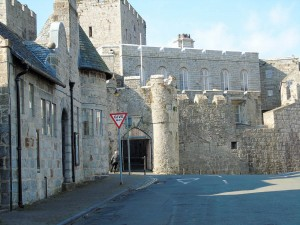 Castle Rushen and Bailey Scott Police Station, Castletown