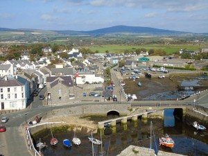 South Barrule and Castletown