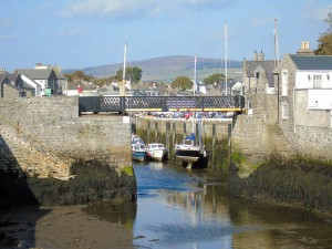 Castletown swing bridge
