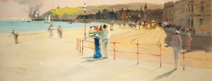 A Sunny Afternoon, Douglas Promenade by John Miller Nicholson