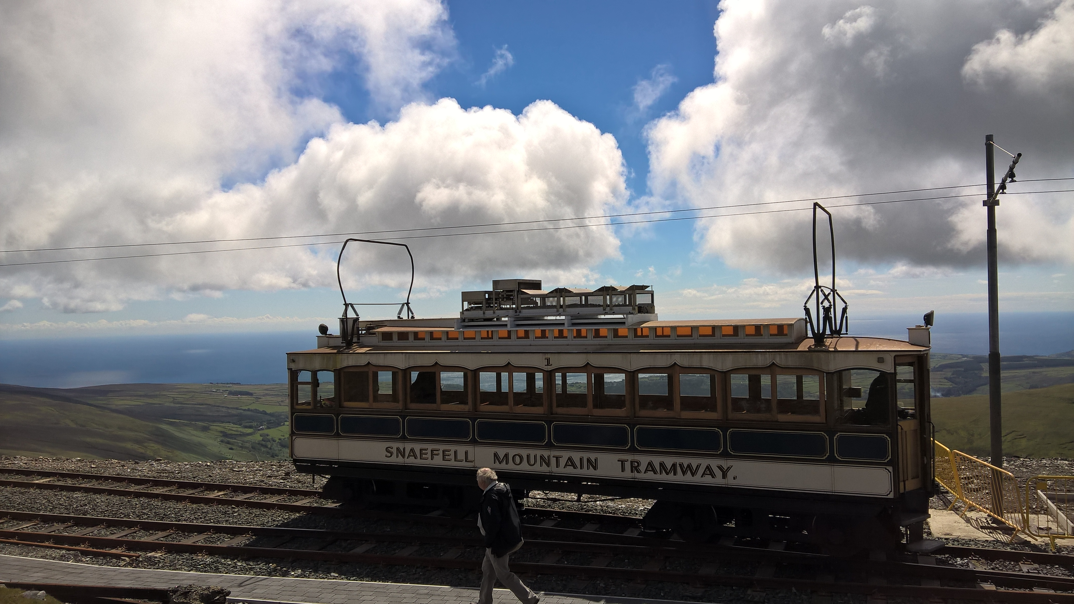 Snaefell Mountain Tram